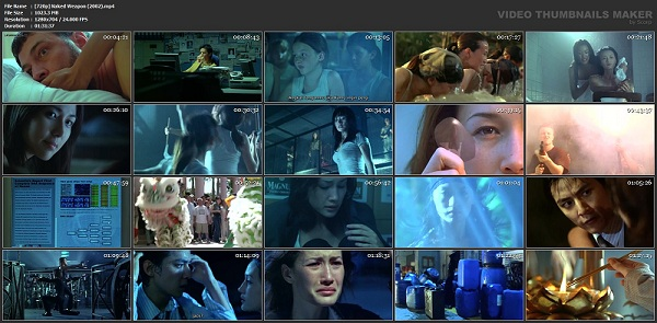 Download Film Naked Weapon (2002) BluRay 720p MKV + MP4