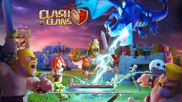 Clash of Clans Mod APK Unlimited Gems 2018 Agustus APK