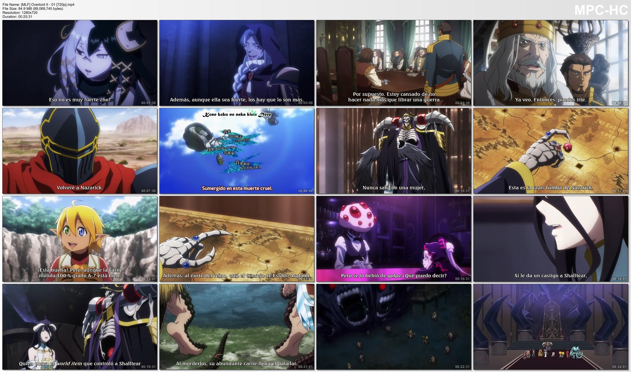 AwDmy5WnPDYr6 - [Aporte] Overlord II [13/13][85MB][MLF][MEGA][Concluido...] - Anime Ligero [Descargas]