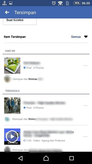 Fitur Baru!!! Cara Menyimpan Status di Facebook