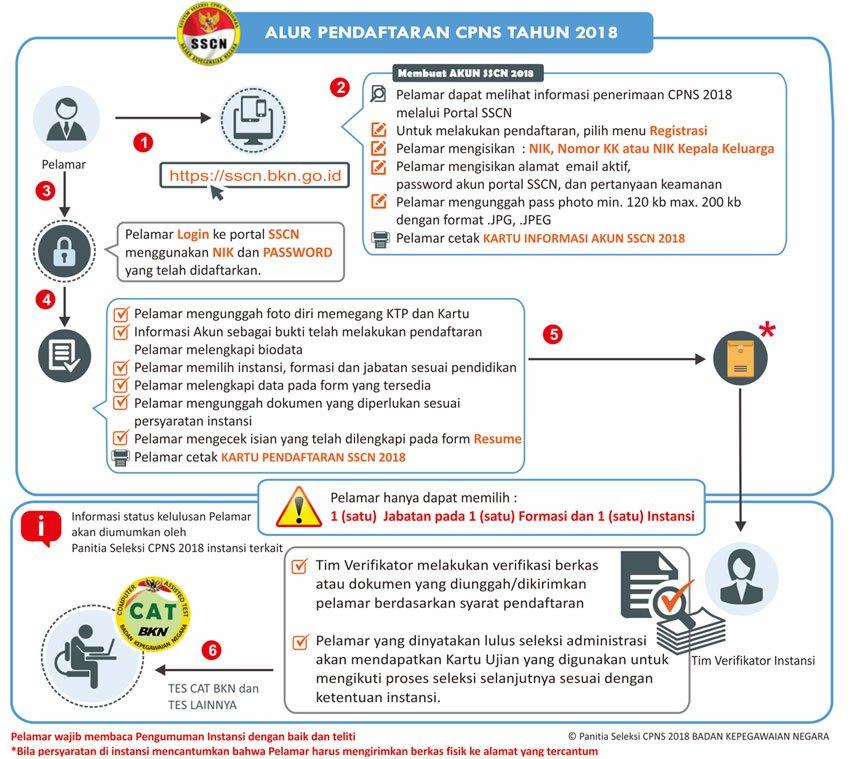 Tips Cara mengecek kelulusan berkas Pendaftaran CPSN 2018