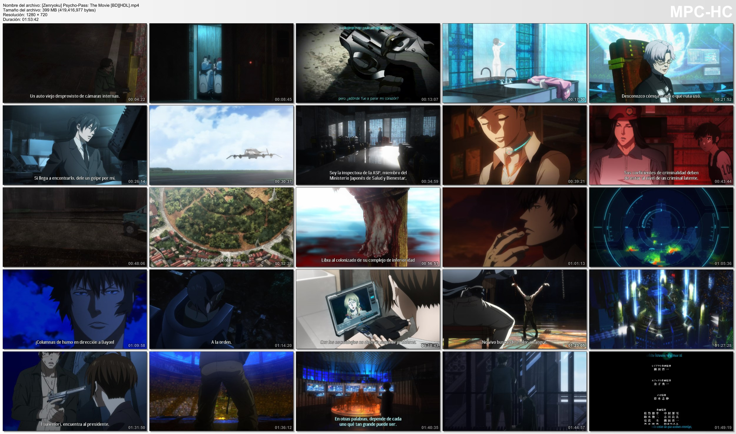 NjKDLzwrg5pDZ - [Aporte] Psycho-Pass: The Movie [Pelicula][BD-720p][400Mb][MEGA] - Anime Ligero [Descargas]