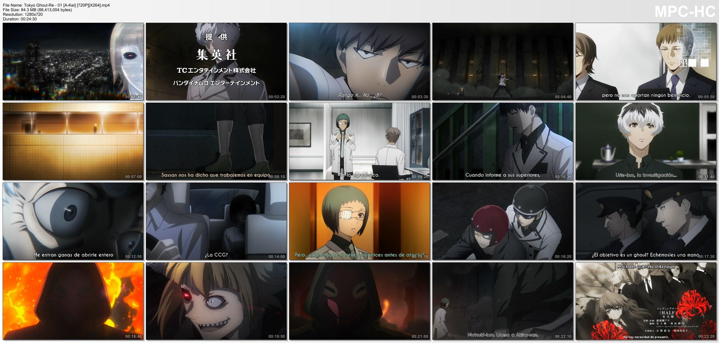 PrDzjgvBkdKDQ - [Aporte] Tokyo Ghoul:re [12/12][85MB][HDL][MEGA][Concluido] - Anime Ligero [Descargas]