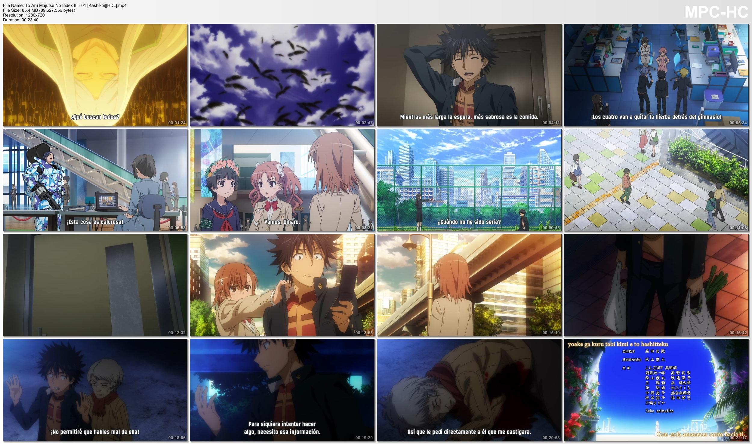 PrYAG77eg2PrZ - [Aporte] Toaru Majutsu no Index III [26/26][85MB][Kashikoi][MEGA][Concluido] - Anime Ligero [Descargas]