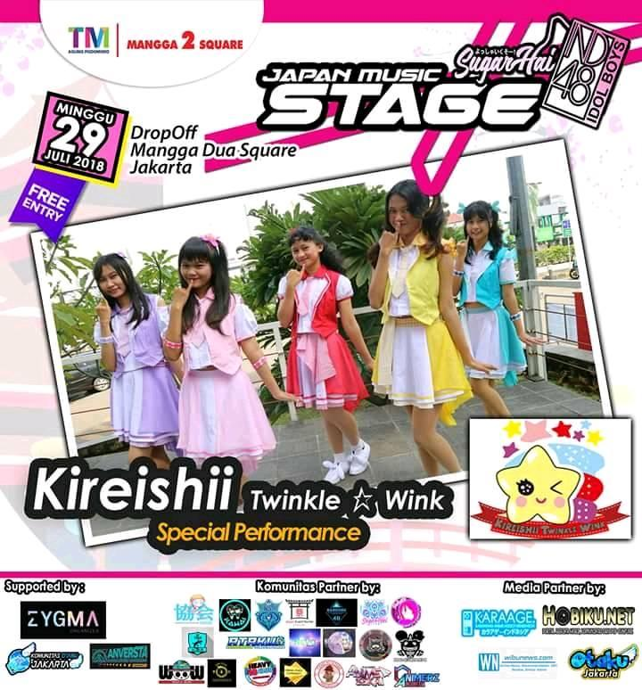 Japan Music Stage 2018 : Line Up Guest Star and Special Performance !!! ~ Wibunews
