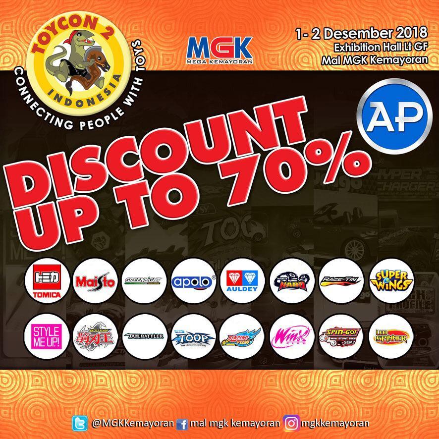 Siap Berburu Marchendise Favorite di Toycon 2 Indonesia ~ Wibunews