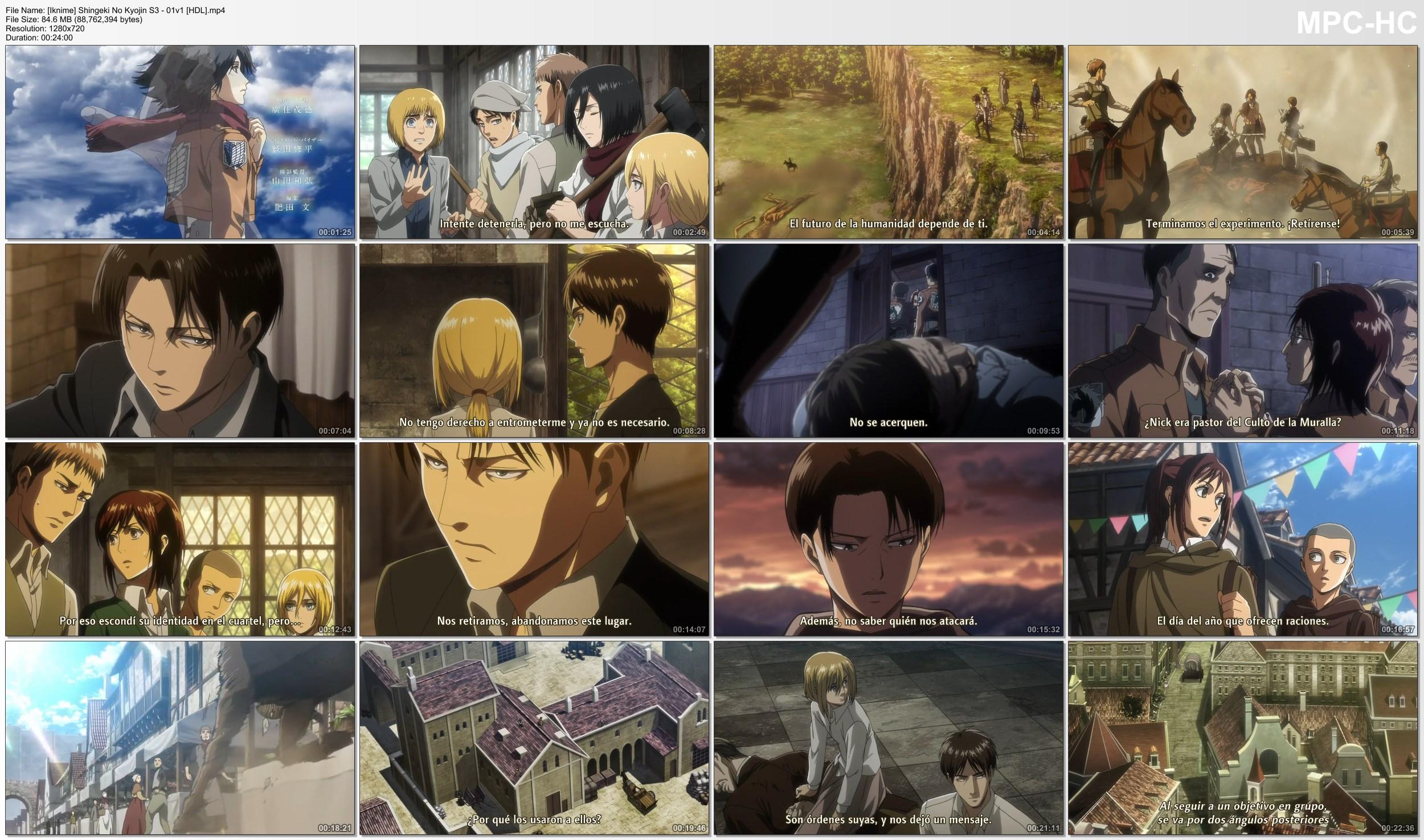 vp43qW7Zk67pw - [Aporte] Shingeki no Kyojin S3 [12/12][85MB][Iknime][H.265][TV][Finalizado] - Anime Ligero [Descargas]