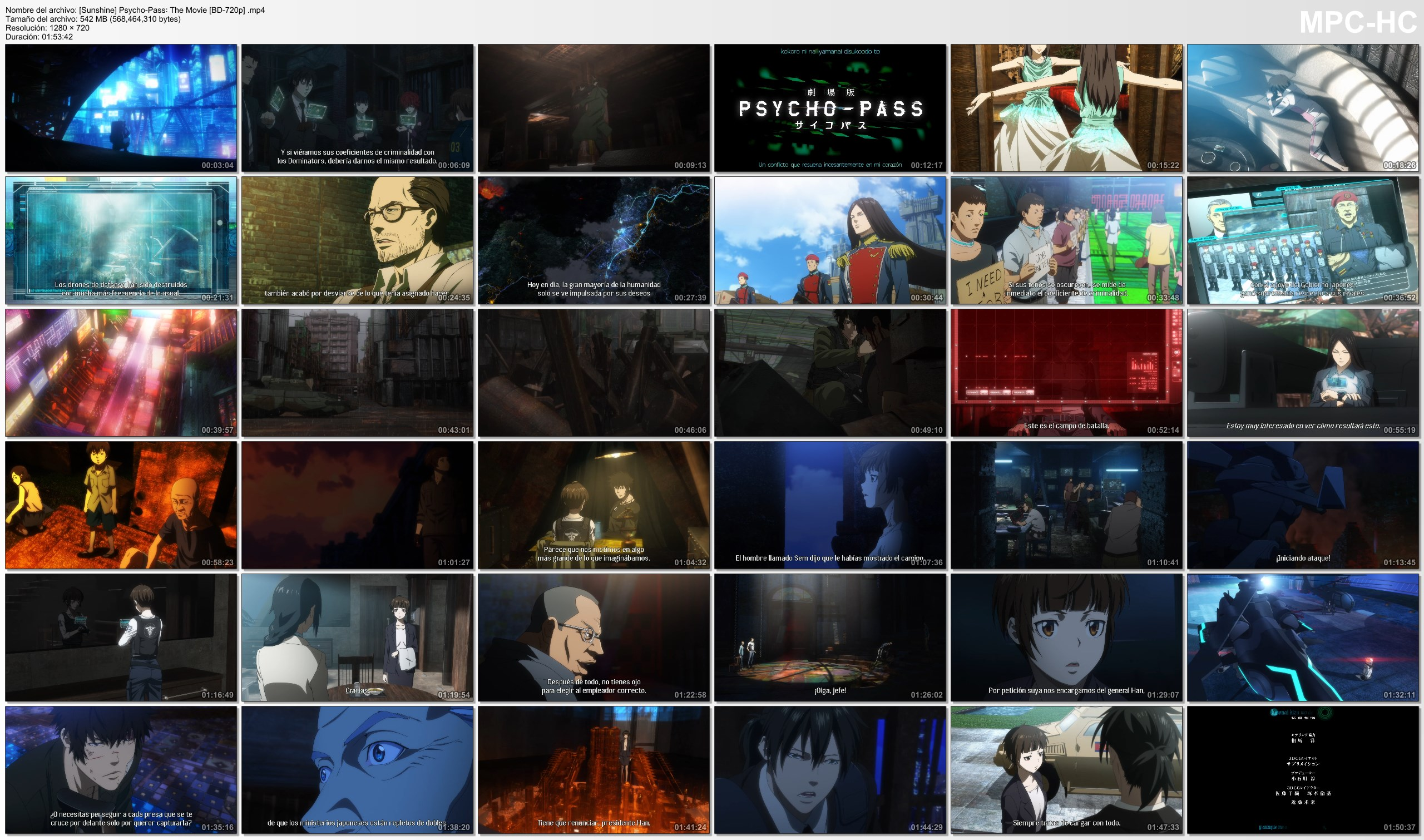 vprnMVRDNkgVY - [Aporte] Psycho-Pass: The Movie [Pelicula][BD-720p][540Mb][MEGA] - Anime Ligero [Descargas]