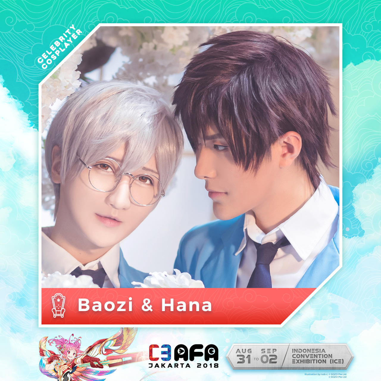 [ News Event ] Line Up Cosplayer Guest Star of C3AFA Jakarta 2018 !!! ~ Wibunews