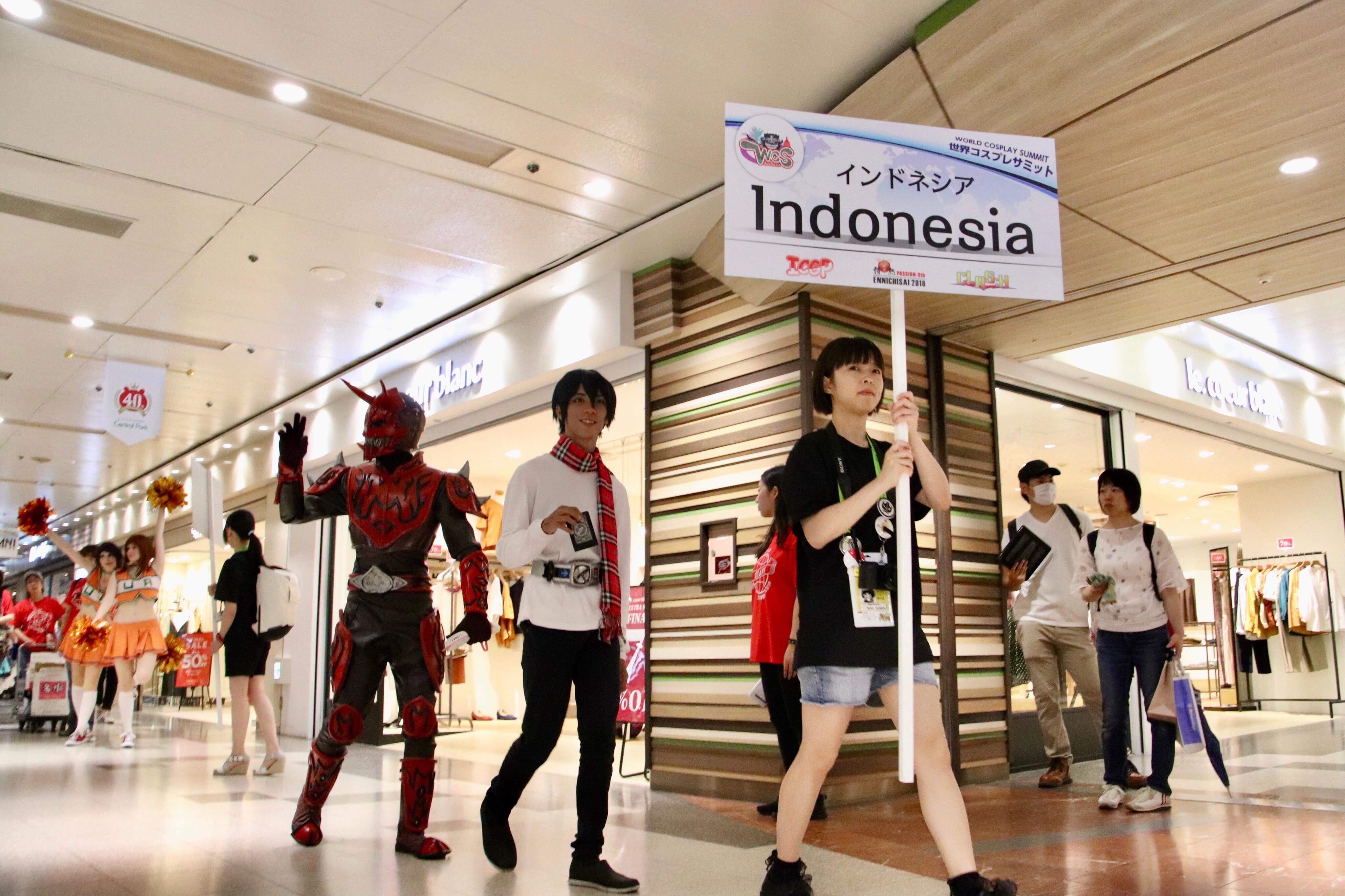 Pertandingan Cosplay Dunia Telah Dimulai, Team Indonesia Lolos Tahap Pertama ~ Wibunews
